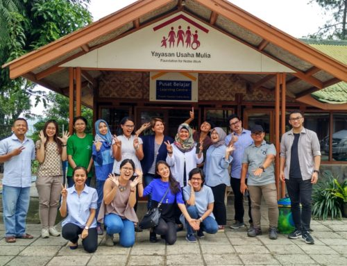 APC Visit to YUM's Community Development Centre in Cipanas, West Java